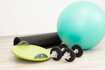 Fitnessgeräte für Physiotherapie