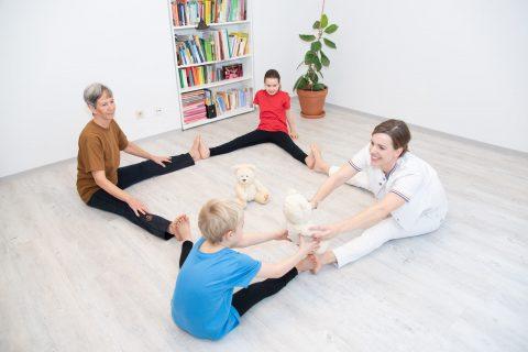 Veronika winter Bewegungsübungen mit Kindern